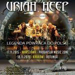Uriah Heep w Polsce 2015 - znamy supporty koncertów w Krakowie i Warszawie - sprawdźcie kto zagra