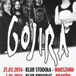 Gojira w Polsce 2016: dwa koncerty francuskiej grupy. Kiedy i gdzie wystąpią?
