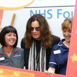 Ozzy Osbourne odwiedził dzieci w szpitalu. [VIDEO]