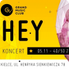 Koncert HEY w Grand Music Club Kielce, sala Hyperion, GRAND Music Club, Kielce