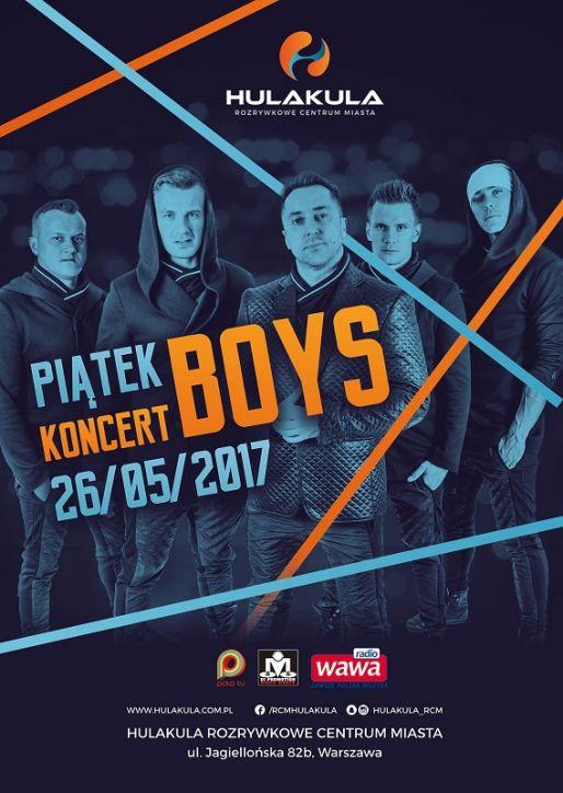 Zespół BOYS w Warszawie