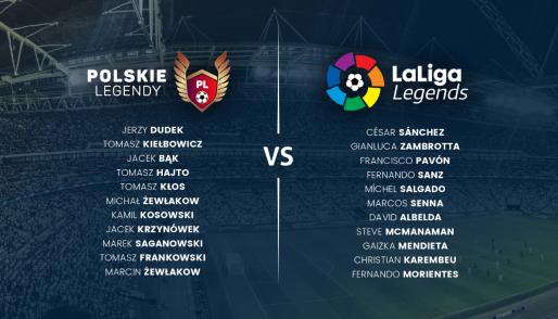 Zapraszamy na wyjątkowe wydarzenie sportowe: mecz byłych reprezentantów Polski w piłce nożnej kontra legendy hiszpańskiej ligi