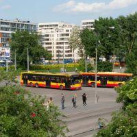 Atak na kierowcę autobusu w Warszawie