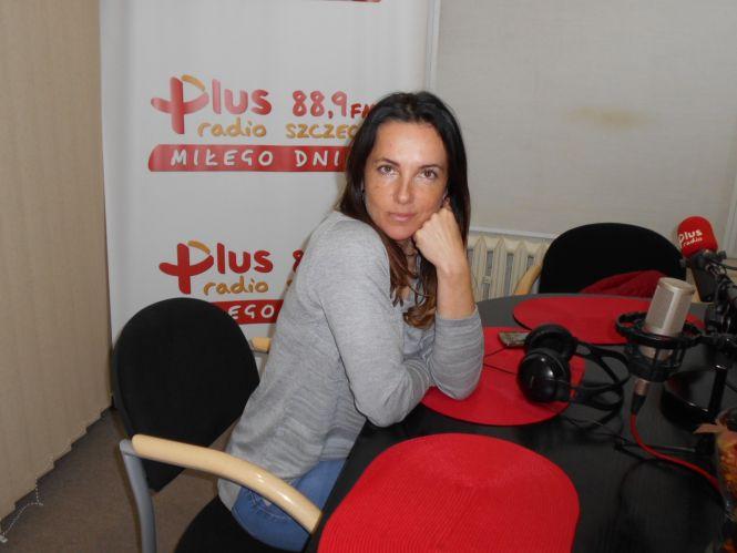 Marzena Białowolska z Fundacji Dzika Ostoja