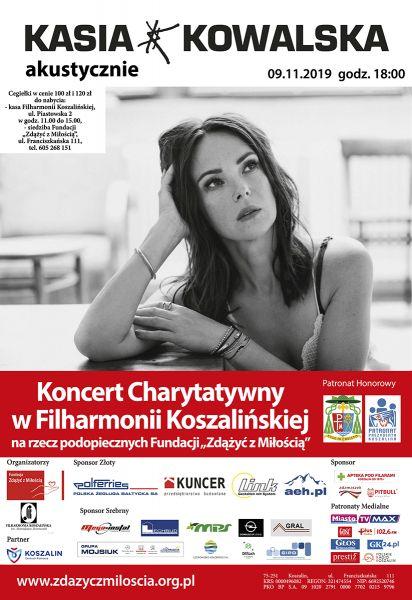 Kasia Kowalska zaśpiewa swoje największe przeboje i utwory z nowej płyty.