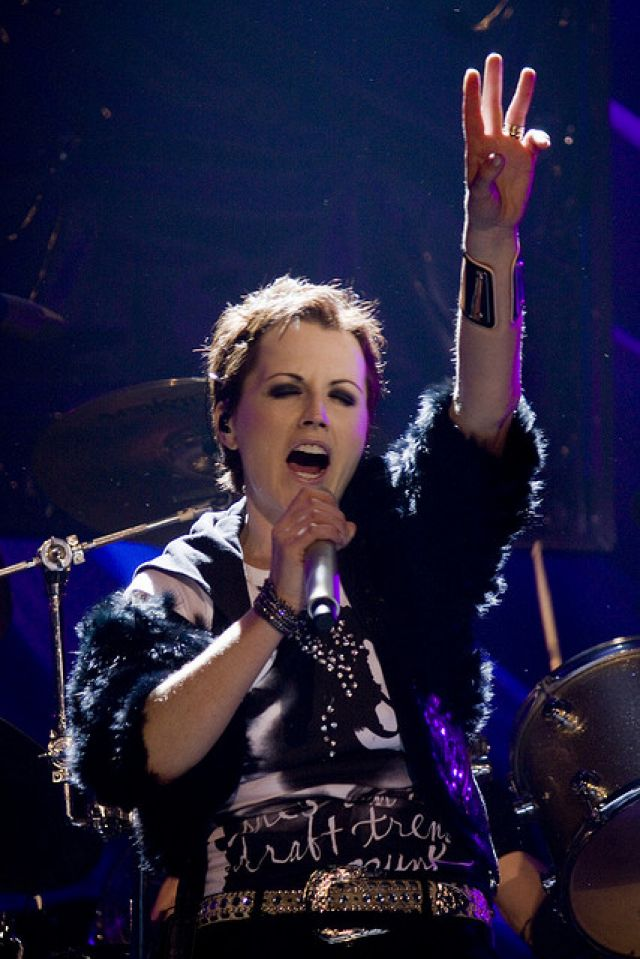 THE CRANBERRIES w artykule DOLORES O`RIORDAN