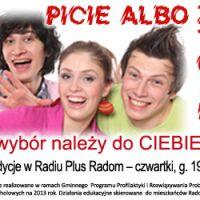 Reklama Picie Albo Życie