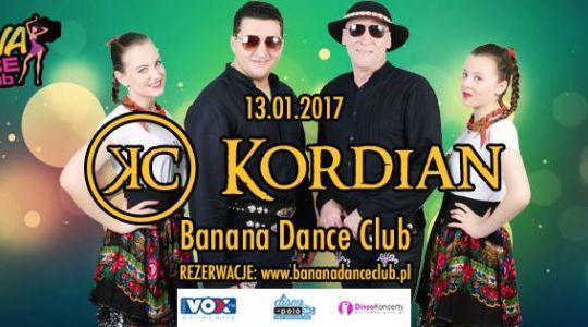 Kordian w Banana Dance Club | 13.01.2017