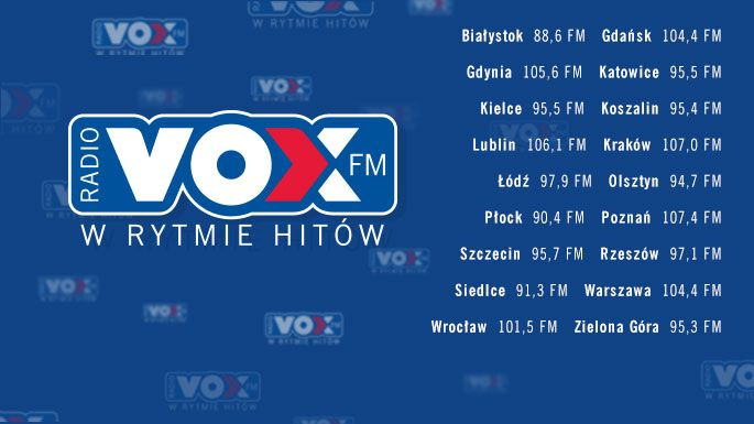 Radio VOX FM - W Rytmie Hitów